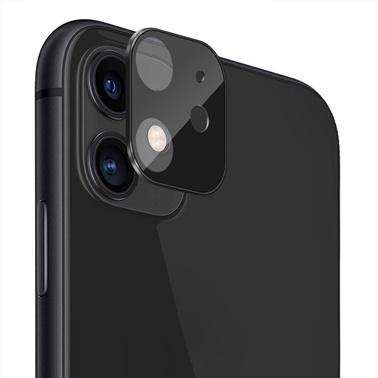 Microsonic Apple iPhone 11 (6.1'') Kamera Lens Koruma Camı V2 Siyah Siyah